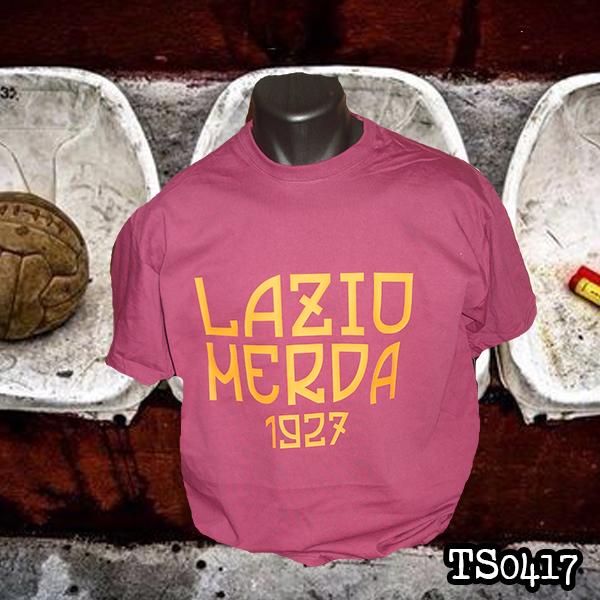 Roma T Shirt Merda Lazio Ultras uZTklPwXiO
