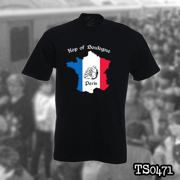 3dc583b4741 PARIS SAINT GERMAIN T-SHIRT - KOP OF BOULOGNE